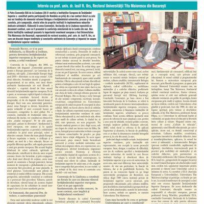 Tribuna Învăţământului nr. 897, 30 aprilie – 06 mai 2007