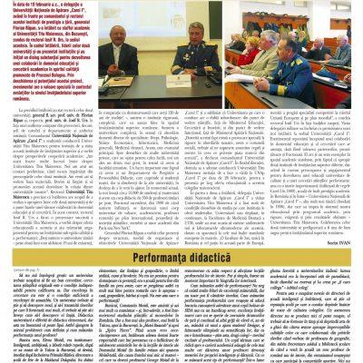 Tribuna Învăţământului nr. 988, 23 februarie - 1 martie 2009