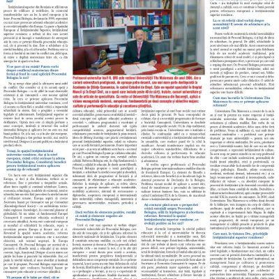 Tribuna Învăţământului nr. 1026, 16 - 22 noiembrie 2009