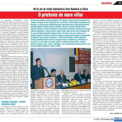 Tribuna Învăţământului nr. 1027, 23 - 29 noiembrie 2009