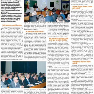 ribuna Învăţământului nr. 1027, 23 - 29 noiembrie 2009