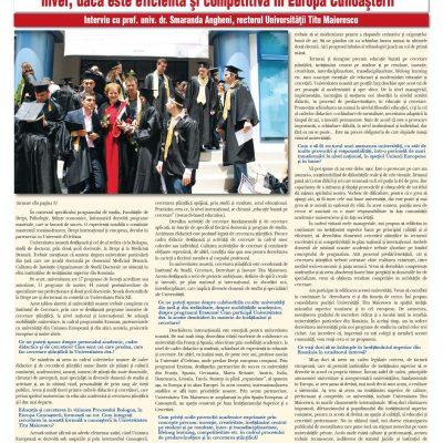 Tribuna Învăţământului nr. 1167, 1 – 7 octombrie 2012