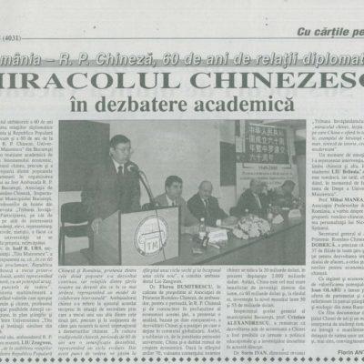 Economistul nr. 3005, 20-21 noiembrie 2009