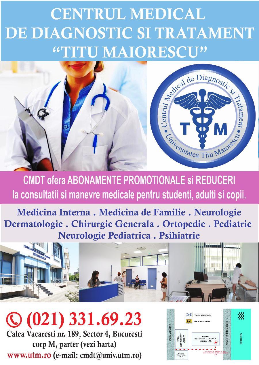 Centrul Medical De Diagnostic și Tratament Titu Maiorescu