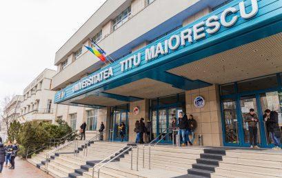 Universitatea Titu Maiorescu participă prin calitatea studiilor și investiții majore în educație la edificarea româniei educate