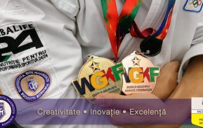 Student from Titu Maiorescu University – World karate champion!