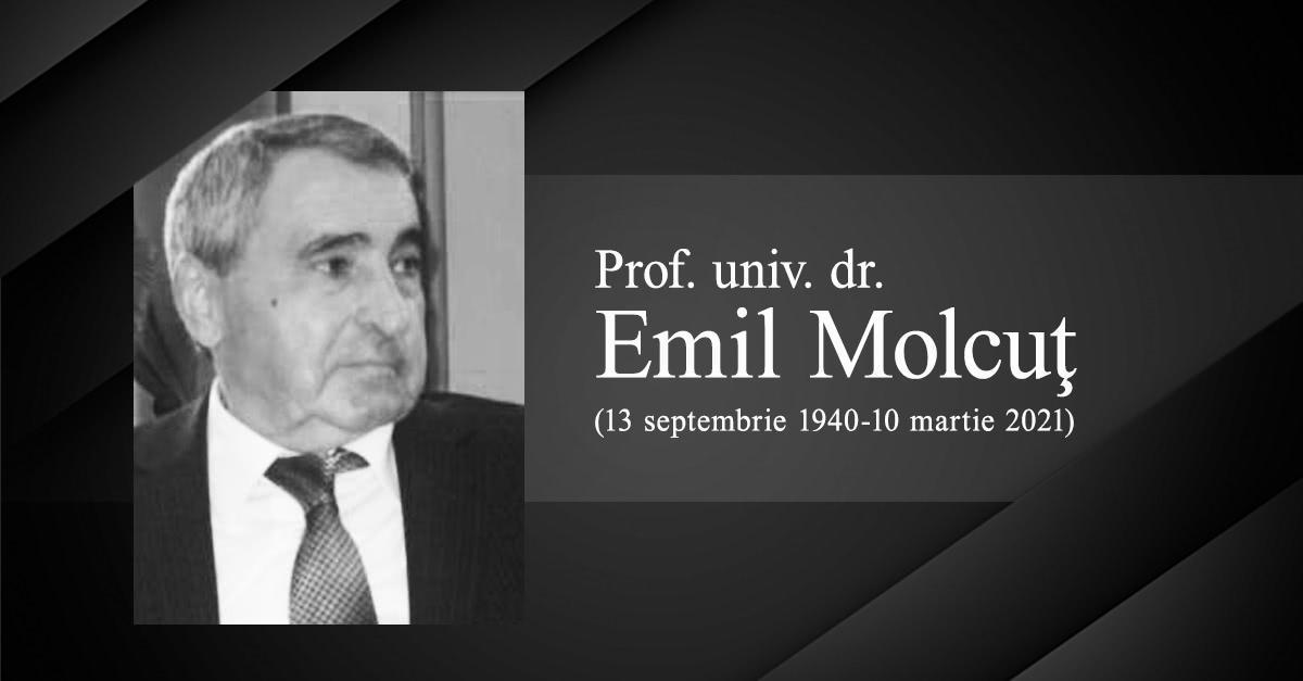 Prof. Univ. Dr. Emil Molcuț