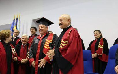 E. S. DR. HERMAN BERKOVITS, CONSULUL ONORIFIC AL ROMÂNIEI ÎN ISRAEL, DOCTOR HONORIS CAUSA AL UNIVERSITĂŢII TITU MAIORESCU DIN BUCUREŞTI